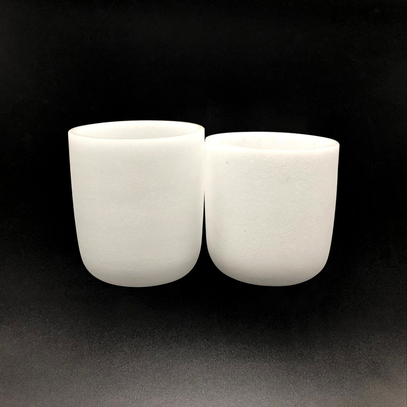 High Quality Hot Sell Customizable Milky Quartz Crucible Singing Bowl